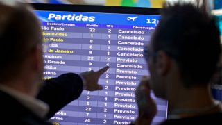 delays and arrival schedules for Brazil carriers