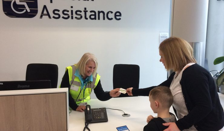 Airport Develops Hidden Disabilities Assistance Card