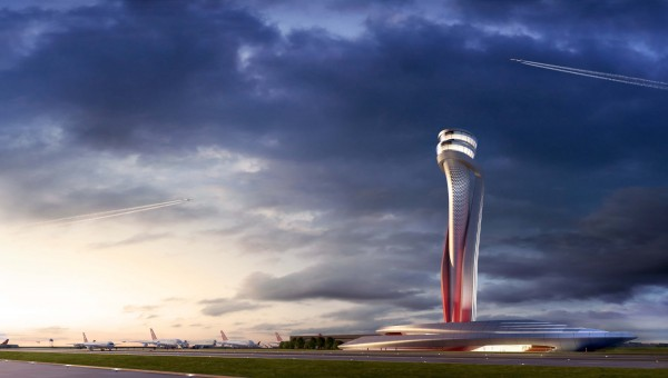 Proposed design of Air Traffic Control (ATC) tower